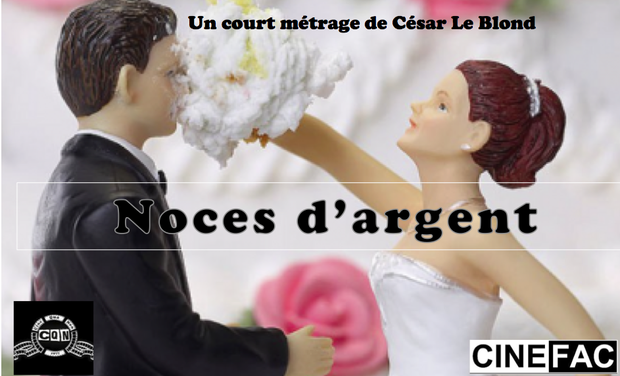 Photo Court-métrage Noces d'argent de César le Blond, lauréat 12ème Concours de scénario Nouveaux Cinémas